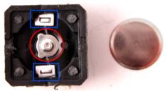 Кнопка без верхней крышки