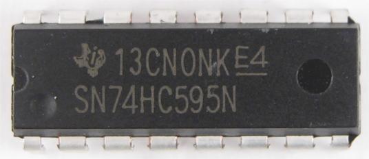 Микросхема сдвигового регистра