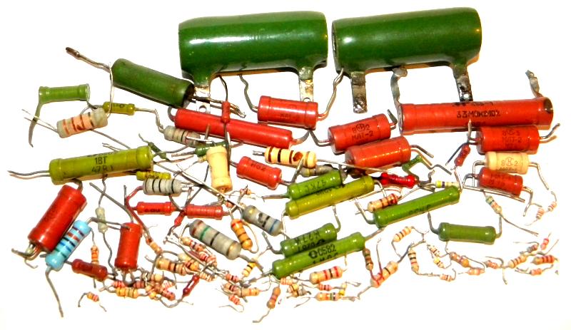 Много резисторов