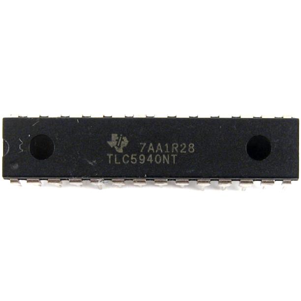 Как подключить драйвер светодиодов tlc5940 к Arduino ...: https://uscr.ru/kak-podklyuchit-drajver-svetodiodov-tlc5940-k-arduino/