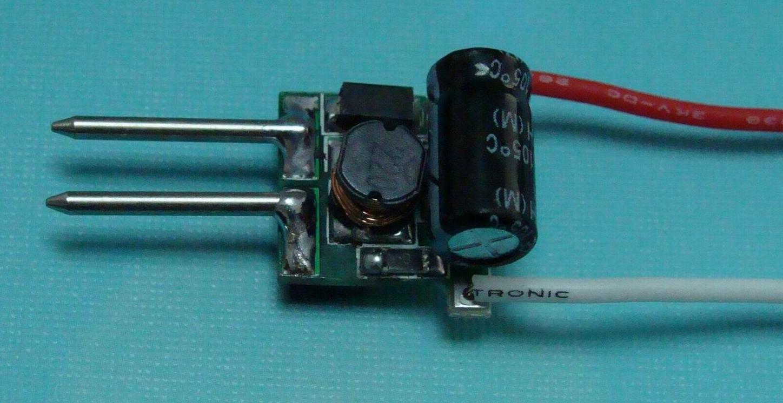 схема ограничение по току для светодиодов