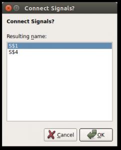 Выбор результирующего имени при пересечении сигналов в EagleCad